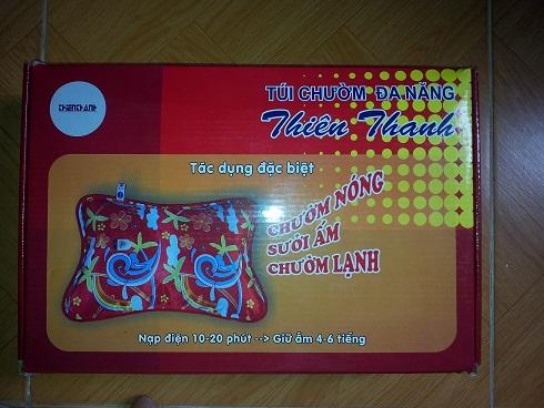 Tui suoi mua dong - Phản ánh của khách hàng khi mua túi chườm Thiên Thanh