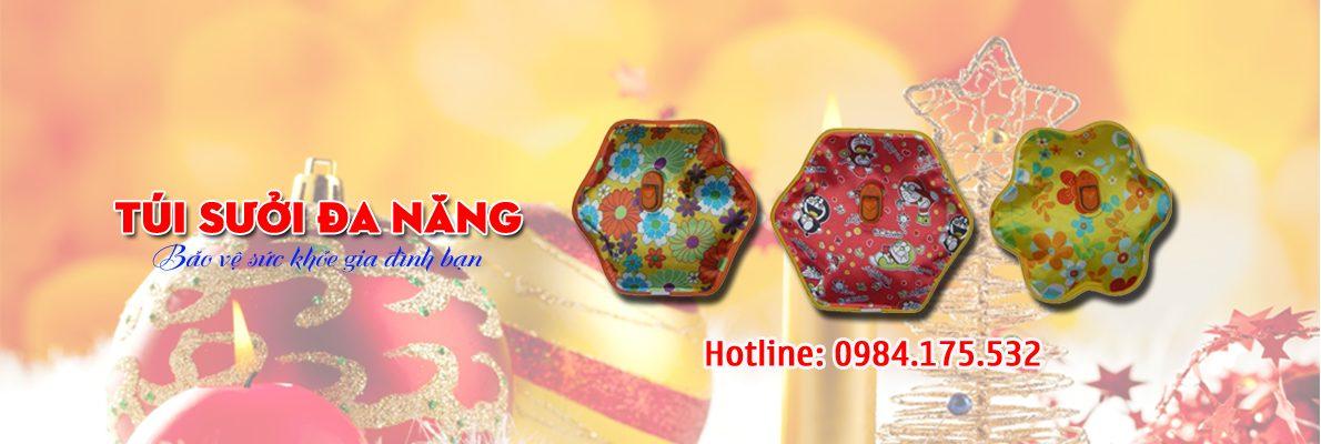 tuisuoidanang 2 - Túi sưởi đa năng, túi chườm nóng hàng Việt Nam chính hãng