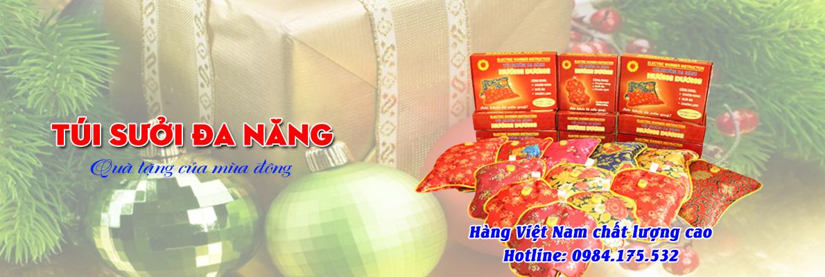 tuisuoidanang 3 Túi sưởi đa năng, túi chườm nóng hàng Việt Nam chính hãng