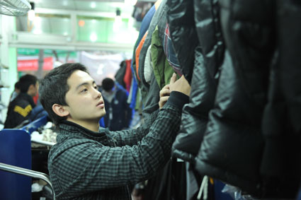 hang chong ret lam nong thi truong - Hàng chống rét làm nóng thị trường