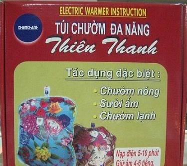tui chuom hieu thien thanh duoc nhieu nguoi dan tin dung - Túi chườm hiệu Thiên Thanh được nhiều người dân tin dùng